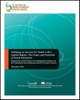 CSPC - Pathways to Success for Youth in BC's Capital Region – The Power and Potential of Social Enterprise