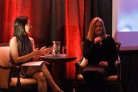 A keynote interview with Tamara Vrooman, CEO and President of Vancity, by Journalist and Social Media Coach, Jaeny Baik